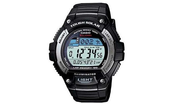 CASIO Men's Solar Multifunction Watch WS220-1AV
