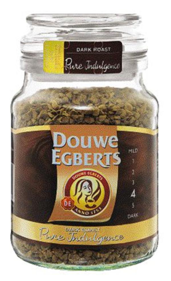 Douwe Egberts Coffee Dark Roast Pure Indulgence 200g