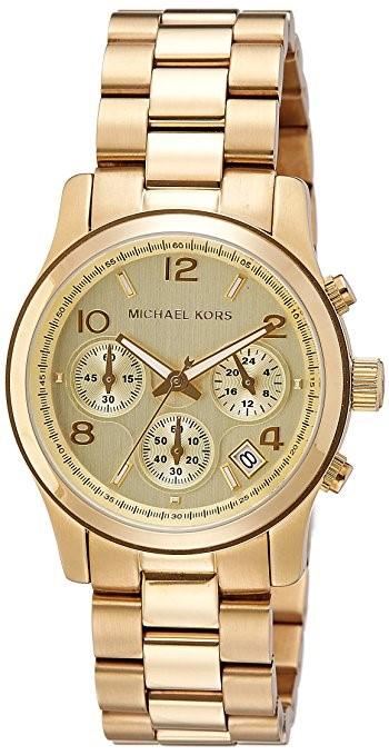 Michael Kors Womens  - Runway Chronograph MK5055